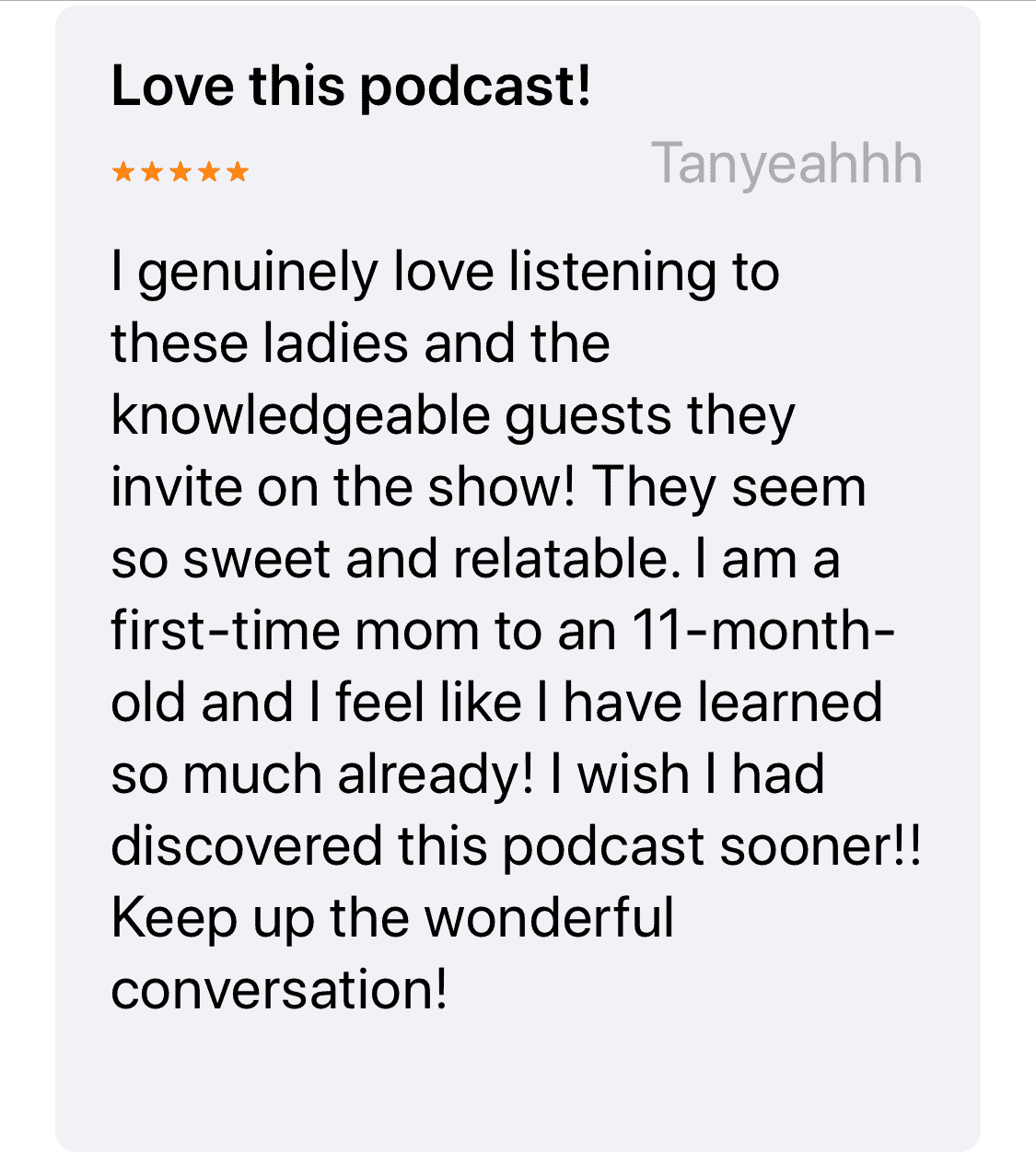 Love-this-podcast!
